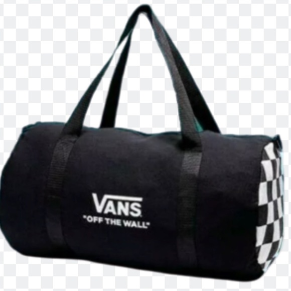 Vans Other - 👦VANS COLLECTORS DUFFEL BAG CHECKER ON BOTH SIDES
